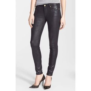 7FAM 'The Skinny' Faux Leather Skinny Pants